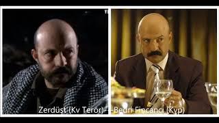 Kurtlar Vadisi'nde Birden Fazla Rol Alan Kişiler!!!
