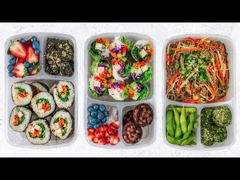 VEGAN SCHOOL LUNCH IDEAS #4 || Healthy, Easy & Delicious