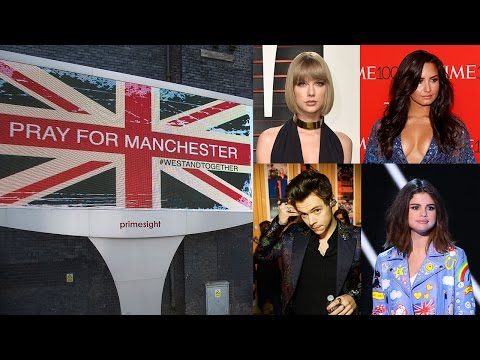 Celebs React To Ariana Grande Concert Bombing