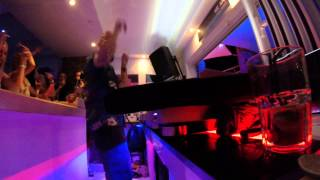 Fatboy Slim at Cafe Mambo 2015  Go Pro  Part 2
