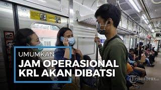 PT KCI Batasi Jam Oprasional KRL Mulai Tanggal 7 April 2020