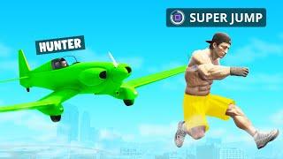 HUNTERS Vs SPEEDRUNNER With SUPER POWERS In GTA 5!