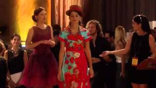 GossipGirl-6x3-Sage Ruins Blairs Fashion Show By Taking Her Clothes Off