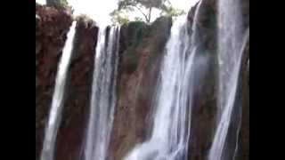 preview picture of video 'Cascades Ouzoud randonnee - ouzoud marrakech Voyager'