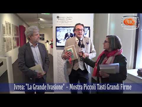 Preview video Ivrea: La Grande Invasione 2019, Mostra Piccoli Tasti Grandi Firme