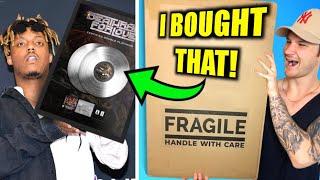 I Bought Juice WRLD's ACTUAL MUSIC PLAQUE!!.. it cost me a CAR..