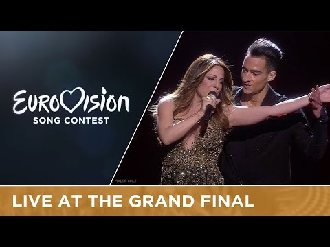 LIVE - Ira Losco - Walk On Water (Malta) at the Grand Final - Eurovision Song Contest
