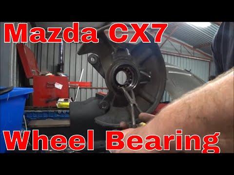 Mazda CX 7   Front Wheel Bearing Replacement - No Press