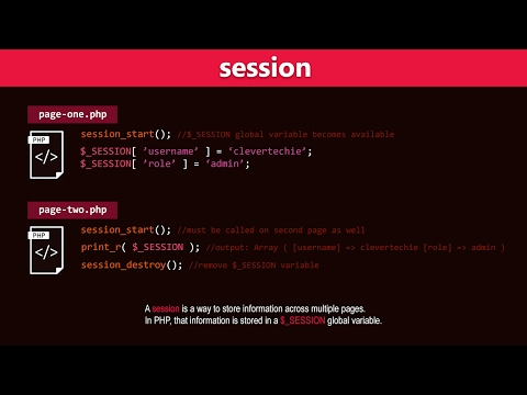 PHP Sessions Tutorial – Learn PHP Programming