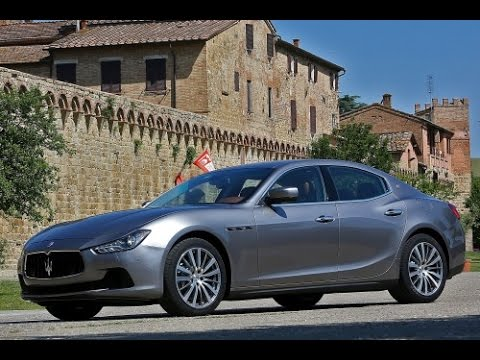 2015 Maserati Ghibli Start Up and Review 3.0 L Twin Turbo V6