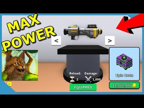 10000000 Epic Hat Crate Rocket Launcher Roblox Weapon