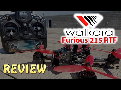 Walkera Furious 215 RTF Bundle Review