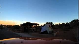 Michael & Gilda's Hobitat 4 Tent up in 8 seconds