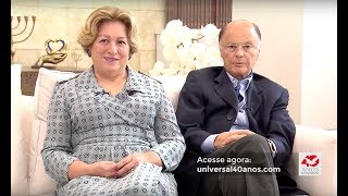 Bispo Edir Macedo e Ester Bezerra