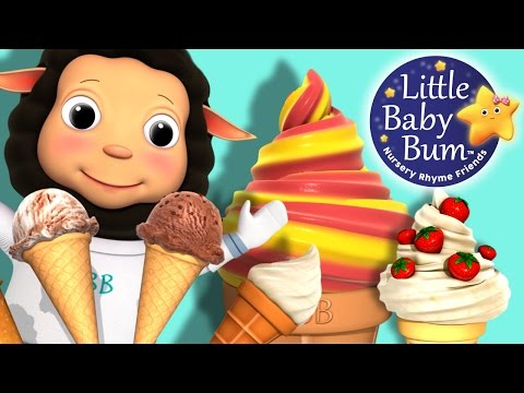 Ice Cream Song for Children | Little Baby Bum | Nursery Rhymes for Babies | ABCs and 123s