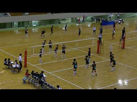 20180724北九州市中学校バレーボール大会 女子決勝 南小倉vs沼