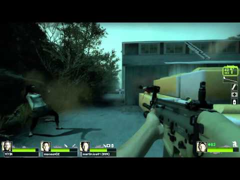 Gameplay de Left 4 Dead 2