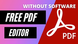 how to edit pdf files without any software by kartikey pathak