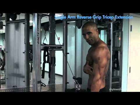TRICEPS - Single Arm Reverse Grip Tricep Extension