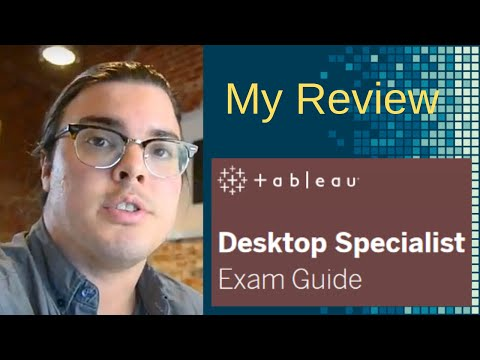 My Thoughts on the new $100 Tableau Desktop Specialist ...