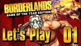 Borderlands GOTY - Lets Play Part 1: Fyrestone