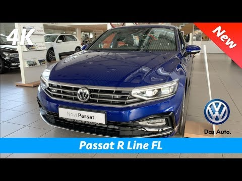 Volkswagen Passat R Line 2020 - FIRST FULL in-depth review in 4K | Interior - Exterior, MIB 3