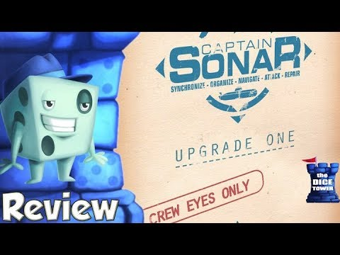 Captain Sonar: Upgrade One Review - with Tom Vasel