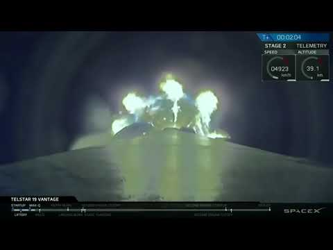 SpaceX Launches Falcon 9 'Block 5' Rocket Carrying a Telesat Satellite