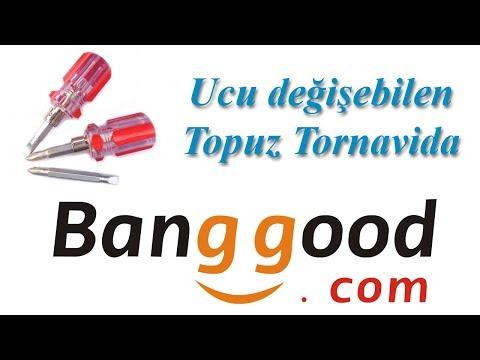 Banggood Ucu Değişebilen Topuz Tornavida