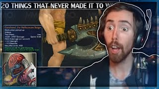 """Asmongold Reacts to """"20 Things That Didn't Make it to Warlords of Draenor WoW"""" by MadSeasonShow"""