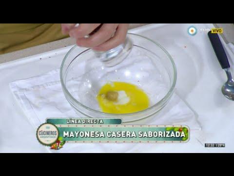 Mayonesa casera, ensalada rusa y frío rápido
