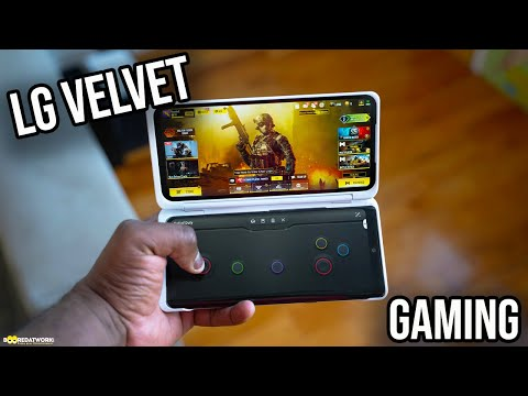 External Review Video 58nyqxrc3_E for LG VELVET Smartphone with LG Dual Screen