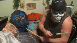 Danzig-Kiss The Skull-Drum Cover by Rick Animal Taylor