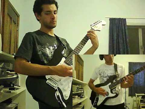 Guitar Cover of Invaders Must by The Prodigy (hard rock version)