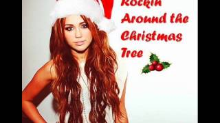 Miley Cyrus - Rockin' Around the Christmas Tree (Audio) (HQ)