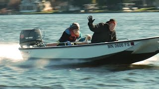 First Drives and Top Speed - Boston Whaler 13' Sport with Tohatsu 40hp
