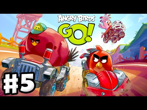 Angry Birds Go! 2 0! Gameplay Walkthrough Part 5 – Terence Race! 3 Stars!  (iOS, Android)