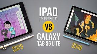 iPad -VS- Galaxy Tab S6 Lite