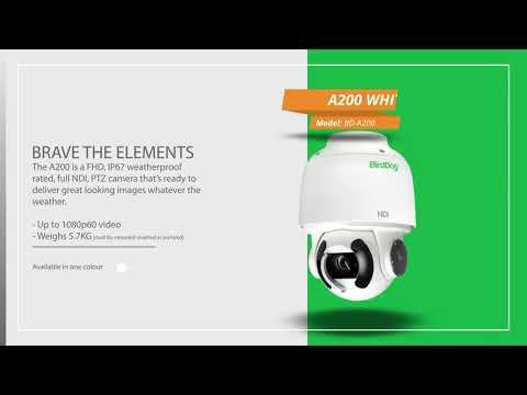 A200 | Outdoor PTZ NDI Camera - Need to Know