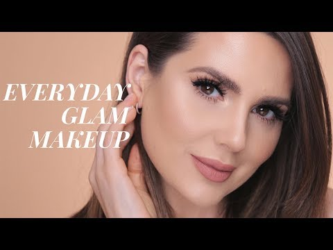 EASY EVERYDAY MAKEUP GLAM LOOK| ALI ANDREEA