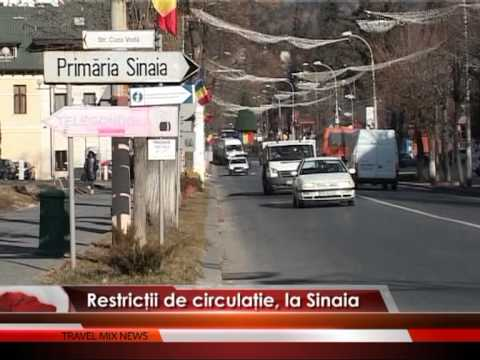 Restrictii circulatie, la Sinaia