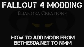 Tutorial - How to add mods from Bethesdanet to NMM