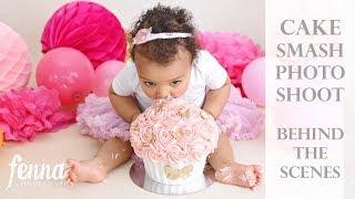 Cake Smash Photoshoot - Behind The Scenes
