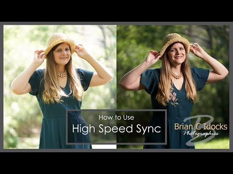 High Speed Sync Flash Photography - Godox AD200