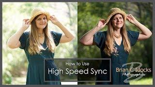 High Speed Sync Flash Photography - Godox AD200