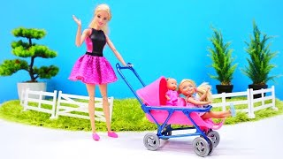 Barbie baby doll videos - A Stroller for a baby doll