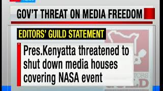 Editors Guild on media freedom