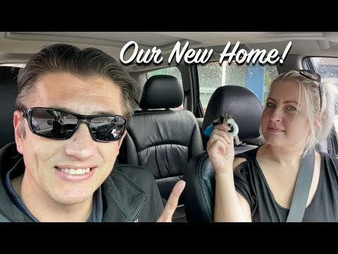 GETTING THE KEYS to our NEW HOUSE
