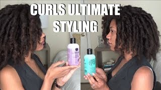 WHATS THE DIFFERENCE?! | Medium Hold Gels | Curls Ultimate Styling Collection