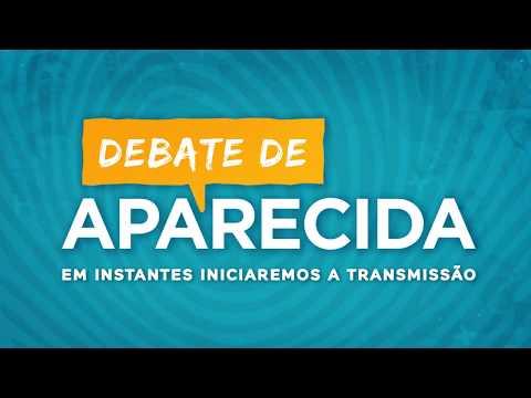 Debate de Aparecida, com os principais candidatos à presidência da República.